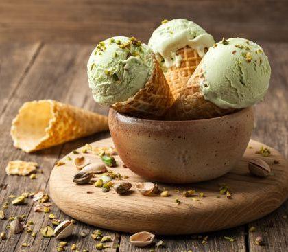 גלידת פיסטוק